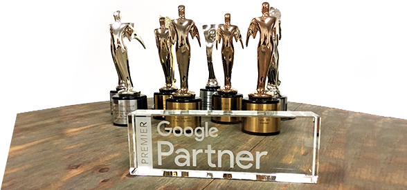 Google Partner for Automotive with Over 21 awards for creative online video for car dealers